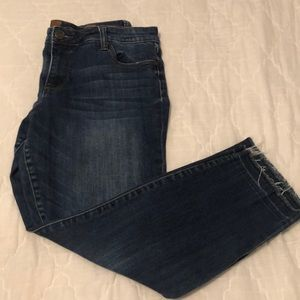 Kut From The Kloth Emma ankle straight leg jean